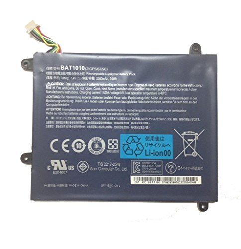 Genuine Acer Iconia A500 Tablet Battery BAT1010 BT.00203.002
