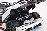 AUTOart Koenigsegg One: 1 Pebble White and Carbon