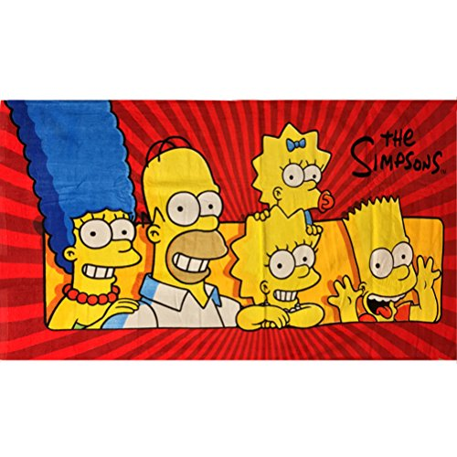 Simpsons Towel - Simpsons The Family Beach Towel