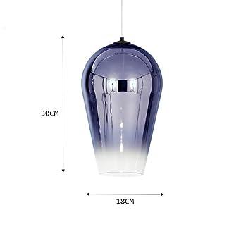 Diseño de barra Lámpara colgante de vidrio Lámparas de araña de ...