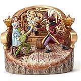 Jim Shore Disney Daring Duel Peter Pan Carved by Heart Figurine 4048653 New JS