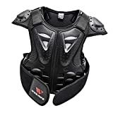 SM SunniMix Professional Kids Motorcycle Vest Support Dirt Bike Chest Protector with Reflection Marking - S