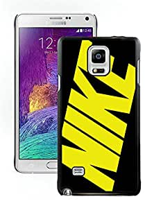 Unique Samsung Galaxy Note 4 Case ,Hot Sale And Popular Designed Case With Nike 24 Black Samsung Note 4 Cover Phone Case