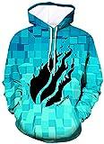 diqiuzhiyan Preston Fire Nation Playz Gamer Flame Hoodie for Boys Girls 3D Print Sweatshirts for Kids...