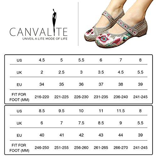 Canvalite Matriau En Pour Ballet Synthtique Femmes SqBSgw