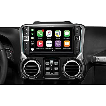 Alpine i209-WRA 9 Weatherproof In-Dash System for 2011-2018 Jeep Wrangler