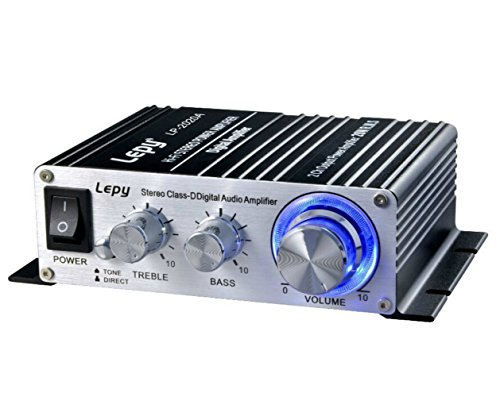 HOOKE Lepy LP-2020A Class-D Audio Amplifier 20Wx2 RMS