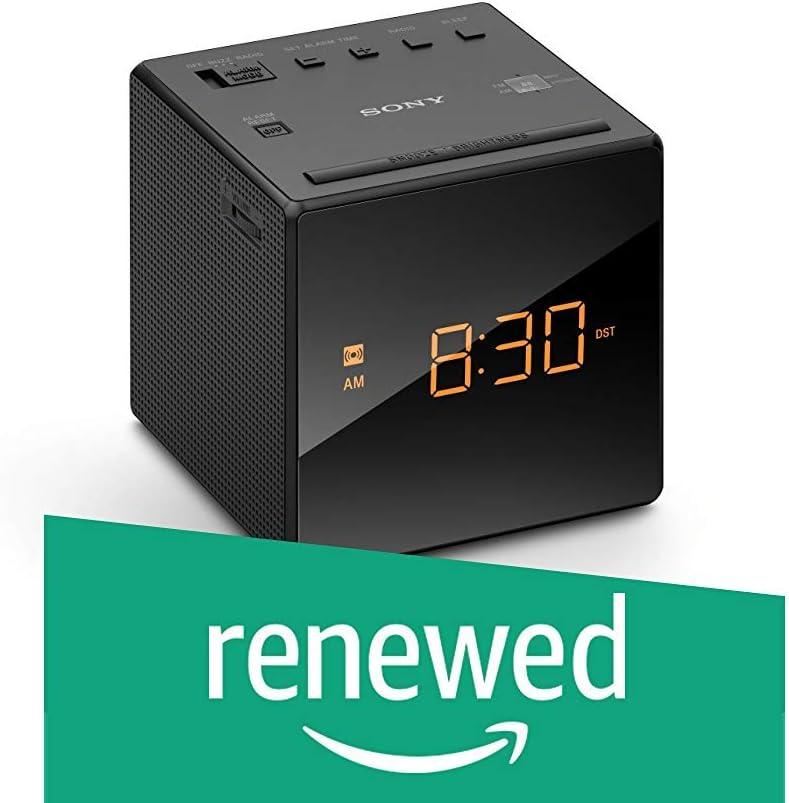 Renewed Sony ICFC-1 Alarm Clock Radio LED Black
