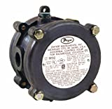 Dwyer Series 1950 Explosion-proof Differential Pressure Switch, Range 4-20''WC, 10G Mica Silver Contact Micro Switch, Fluorosilicone Diaphragm