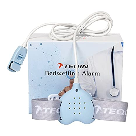 Bedwetting Alarm Enuresis, alarma de Enuresis, Rechargeable, Sound Vibrating, for Children...