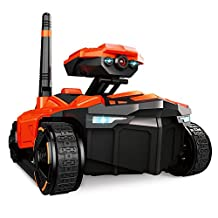 Amyove YD-211 Wifi HD Camera Remote Control Tank Toy Phone Controlled Live Transmission Intelligent Vehicle Toys Best Toy Gift for Kids Bridge between Parents and Children