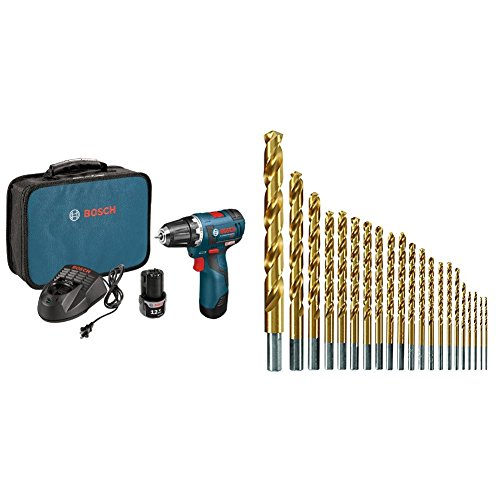 Bosch PS32-02 12-volt Max Brushless 3/8-Inch Drill/Driver...