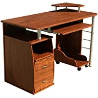 Merax Home and Office 2-Drawer Computer Desk