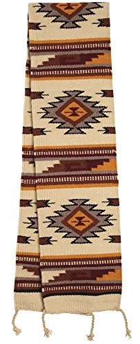 Southwest & Native American Style Table Runner made from 100% Hand Woven Wool 10