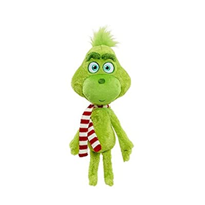 Modi Classic Movie Characters Christmas Plush Toys Plush Toys Grinch Plush Doll Toys Christmas Toys Children Gifts (Grinch Wearing a Scarf): Toys & Games