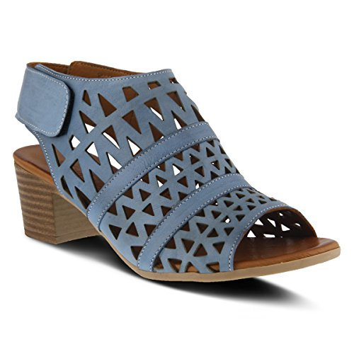 Spring Step Women's Style Dorotha Leather Sandal Blue how much cheap price UyHKvO