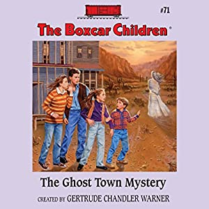 The Ghost Town Mystery Audiobook