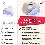 Makartt 48W Rechargeable UV LED Nail