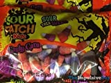 Halloween Sour Patch Kids Candy Corn (limited edtion) (orange & grape flavors) (2 pack)