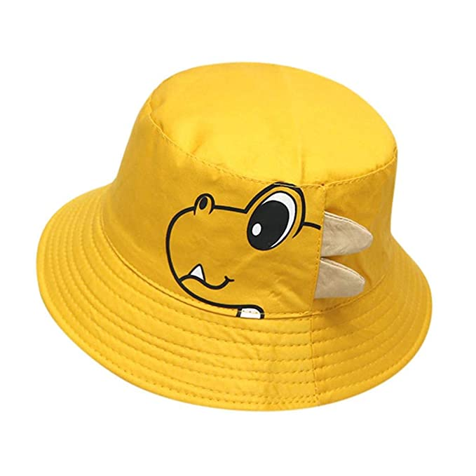 QUICKLYLY Sombreros Gorras Sombreros del Bebé Sombrero Suave De Algodón para El Sol BéIsbol Boina -Amarillo: Amazon.es: Ropa y accesorios