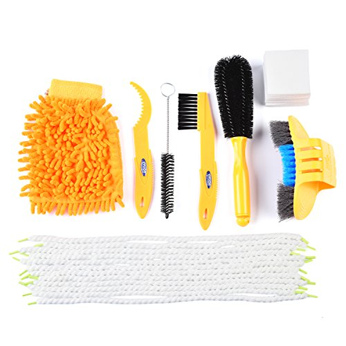Bike 7pcs Bicycle Cleaning Tools Set Multi Function Clean Brush Kit Bike Cleaning Brush Set
