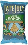 Late July Organic Snacks Dude Ranch Multigrain Tortilla Chips, 5.5-Ounce (Pack of 6)