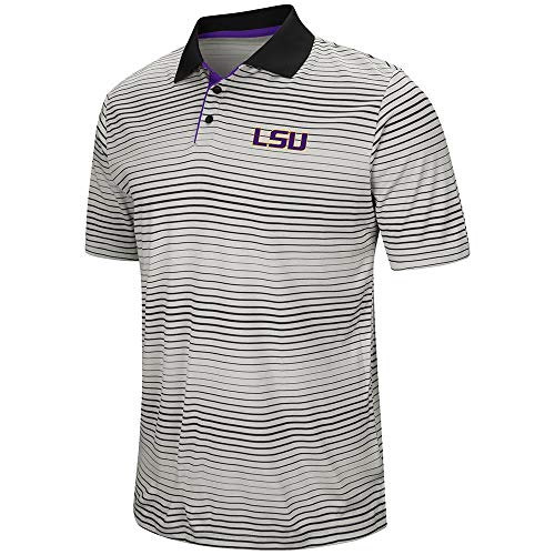 Mens LSU Louisiana State Tigers Polo Shirt - -