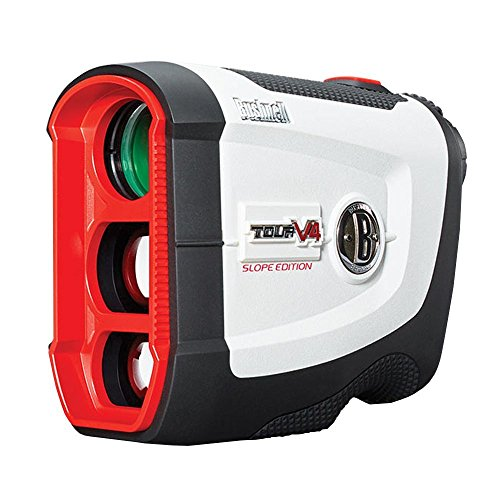 Bushnell '' Tour V4 Shift Golf Laser Rangefinder, White, Regular