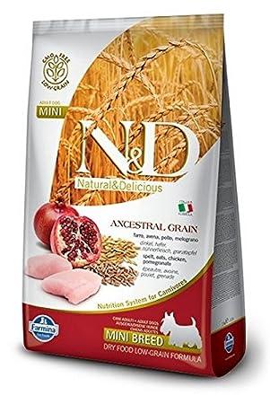 Farmina - Farmina N&D Pollo y Granada Adult Mini Low Grain - 1062 - 2,