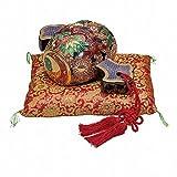 Jpanese traditional ceramic Kutani ware. Decorative Ornament. Mori. With paper box. ktn-K5-1697
