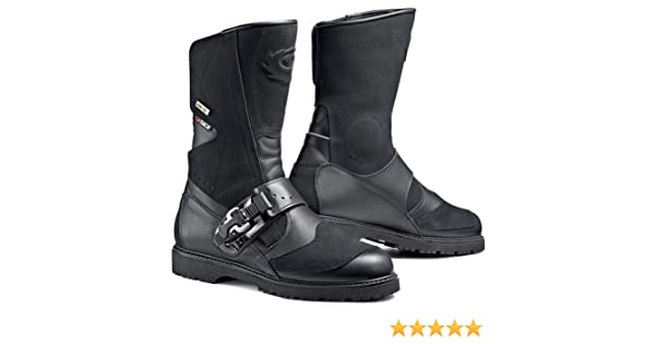 Sidi - Vcanyongo ner - canyon gore-tex motorcycle boots 42 black (uk 8): Amazon.es: Coche y moto