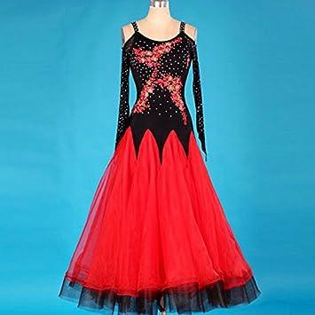 kekafu Vamos Mujer Vestidos de baile de salón/Cristales Rhinestones 1 pedazo de vestir,