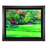 Golf Gifts & Gallery Augusta #11 Framed Canvas Art