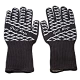 Grill Ninja Heat-Resistant Barbecue Gloves (1 Pair) - Protection Up To 932 Degrees