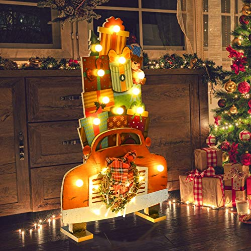 Light Up Christmas Ornaments Outdoor in US - 8