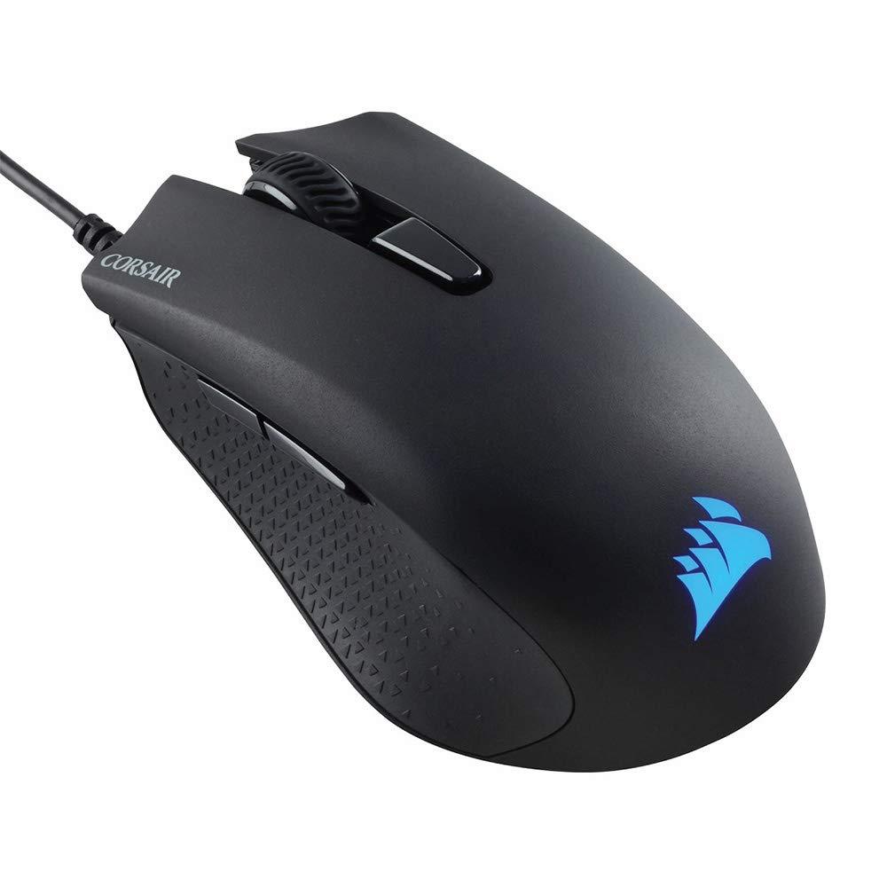 Corsair Harpoon Pro RGB, FPS/MOBA Gaming Mouse, 12000 DPI Optical- Black