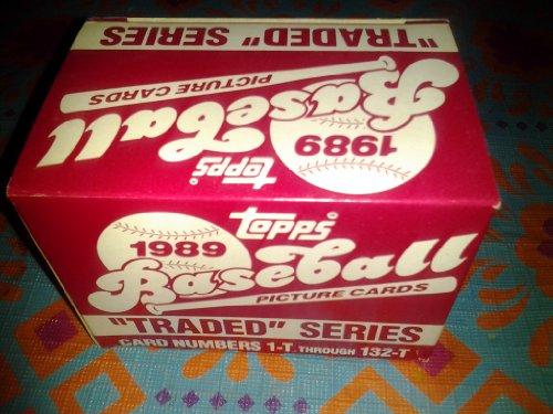 (1989 Topps Traded Series Baseball Set - 132C)