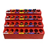 FastCap KISS DB SYSTEM 1/16-inch - 1/2-inch Color-Coded 82 Drill Bits by Fastcap