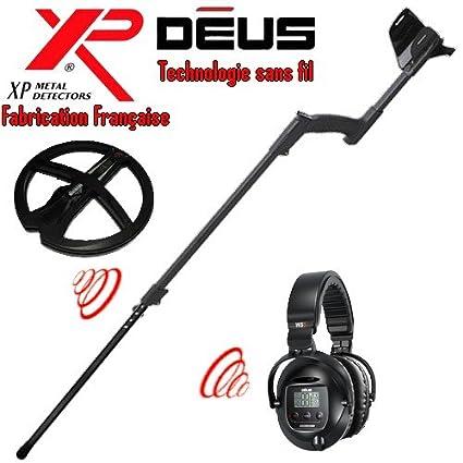 Metal Detectors Xp-Detector De metales Deus Light2 Tecnología inalámbrica-Auriculares De diadema inalámbricos