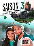 Saison 3 niv.B1 - Livre + CD mp3 + DVD