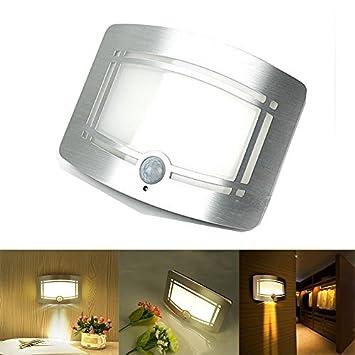 elecfan Lámpara de Pared para Niños Luz Cálida, Sensor de Movimiento Inalámbrico Luz LED Inalámbrica