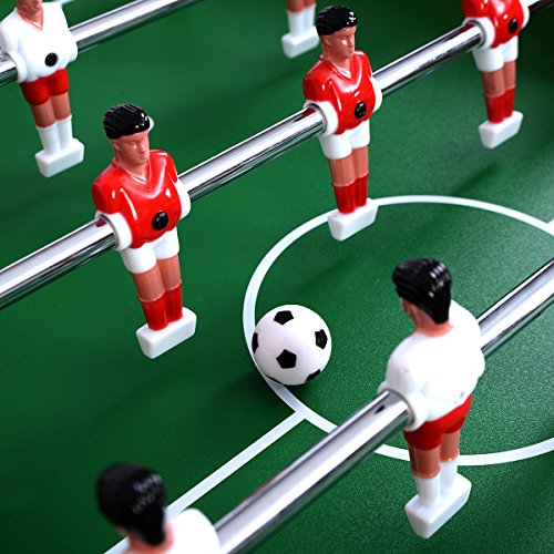 Giantex Foosball Soccer Table 47'' Competition Sized Arcade Game Room Hockey Family Sport by Giantex (Image #2)