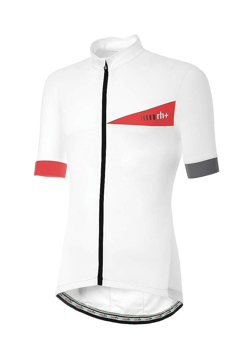 [アールエイチプラス] ECU0616 Prime Evo Jersey R03 White-Red-Reflex L サイクルジャージ EU L (日本サイズL相当)   B07MVXJBVG