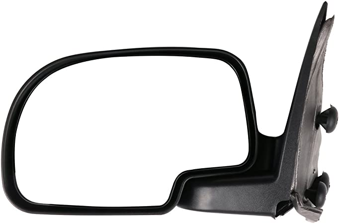 811980-5206-1142533 1999-2000 New Body Style 2007 Classic SCITOO Manual Adjusted Folding Side Pair Set Door Mirrors for 1999-2006 ChevroletSuburban GMC Sierra