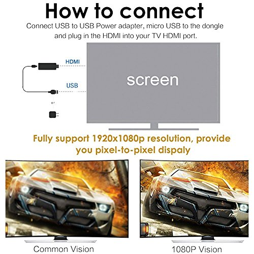 M2 Plus WiFi Display Receiver TV PC Dongle AV DLNA Airplay Miracast Iphone Ipad airplay HDMI TV Stick Dongle by Superwang (Image #4)