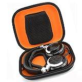 Hard Carrying Case Travel Bag Headphones Case for Sennheiser HD700 HD650 HD600 HD598 HD558 HD518 HD380 HD280PRO PC330 Beast pro (Black Fabric)