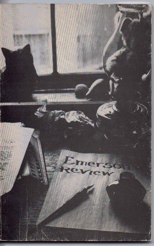 Emerson Review. Fall 1981. (The Emerson Review; A Student Publication at Emerson College.)