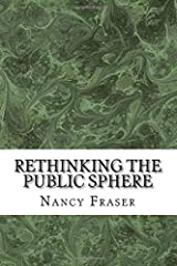 Rethinking the Public Sphere Paperback