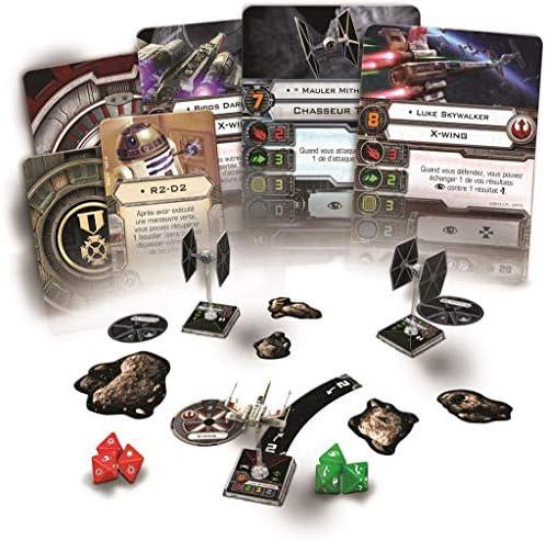 Fantasy Flight Games- Star Wars X-Wing Caja Basica, Color, 32.5 x 25.7 x 6.1 (Edge Entertainment EDGSWX01): Amazon.es: Juguetes y juegos