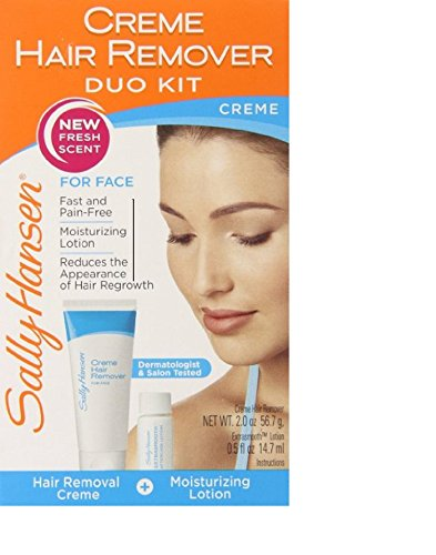 - Creme Hair Remover Kit for Face, Upper Lip & Chin by Sally Hansen